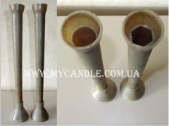 Forms for carved candles