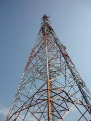 Masts of the radio-transmitting centers