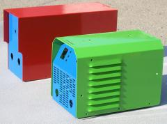 Enclosures for gas-welding equipment