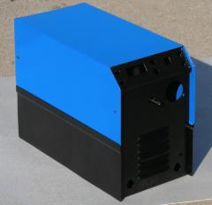 Enclosures for semi-automatic welding