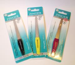 Zinger nail file