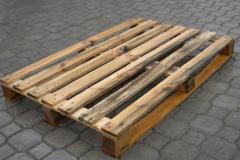 Поддон деревянный тип A-011 из цельных деревянных