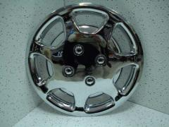 "The cap chromeplated 13 ""14"