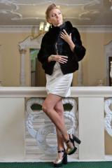 Fur coat from a mink of the autolady Kiev Dnieper