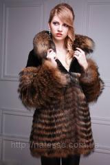 Шуба из бобра и енота  Beaver-and-raccoon fur coat