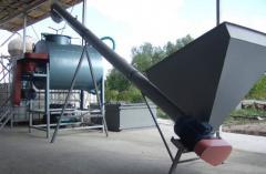 Conveyors shnekovy (conveyors)