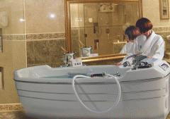 Hydromassage bathtub of S-280 T MA-08. The JUMBO