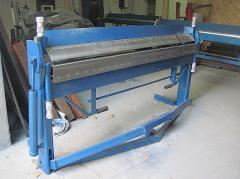 Sheet bending machine (listogib) segment SL 1270