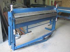 Sheet bending machine (listogib) segment SL 2020
