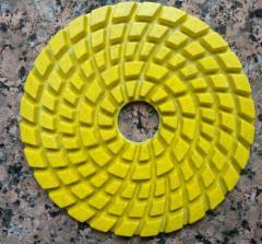 Шлифкруги для гранитного/мраморного пола 100х5 мм.