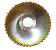 Фреза дисковая 3-х (встав.нож.)  сталь Р6М5   ГОСТ