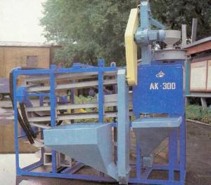 Агрегат круподельный АК-300 для получения крупы из гречихи разных фракций