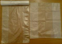 Packages from polyethylene, plastic bags