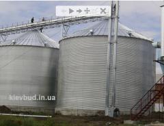 Зернохранилища заказать , КиевБудРезерв