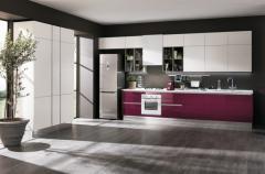Кухни с фасадами из стекла Mario, мебель под заказ