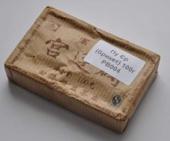 Pu-erh rectangular pressed 100 g