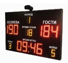 Светодиодные спортивные электронное табло для всех