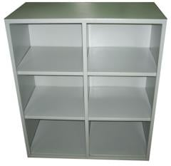 Combined cabinets, metal body