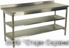 The neutral equipment from stainless steel for