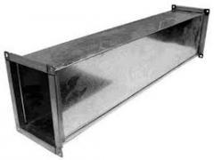 Air duct rectangular 100х100 of galvanized steel