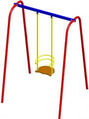 Swing metal unary on a rigid suspension