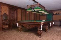 Мебель для  бильярдных комнат.  Столы и столешницы