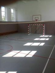 Floor covering in gyms