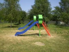Arrangement of playgrounds