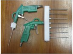 La pistola para shpritsevaniya de mano bajo la