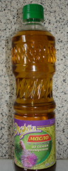 Anti-inflammatory oil of a thistle from the