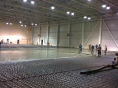 Magnesian industrial floor