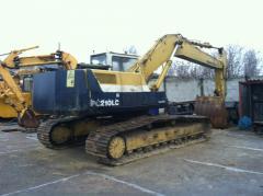 Komatsu PC210-LC excavator