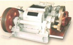 Crushers two-roll gear DDZ-4, DDZ-6