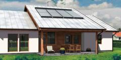 EURONOM.Солнечная панель с вакуумными...