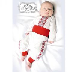 National Ukrainian suits for newborn boys,