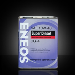 Engine oil semi-synthetic diesel ENEOS 10w40 CG-4,