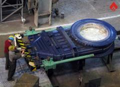 The DN1100, DN1300, DN2000 hot blast valve for