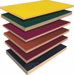 Plywood moisture resistant laminated