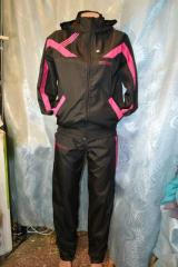 Распродажа спортивный костюм Adidas,плащевка
