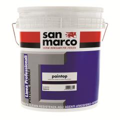PAINTOP краска с кварцевым песком (фасад)