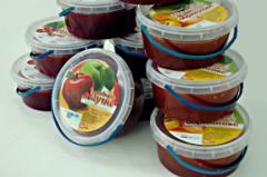 Jam blackberry (container on 12, 6 and 0,5 kg)
