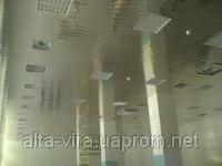 Албес Реечный потолок зеркальный 4м