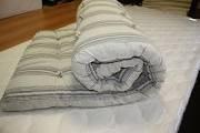 He mattress is wadded