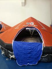 Надувной спасательный плот L Raft 15 человек,