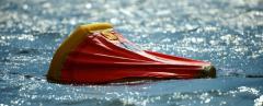 Inflatable L Raft liferaft of 12 people, RFD