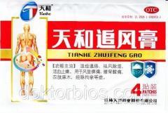 Пластырь (обезбаливающий) Тяньхэ Чжуйфен Гао