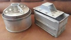 Perforated molds for cheeses