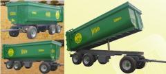 The trailer P – 26.4 (Spain) 3 axes Volume - 31 m3