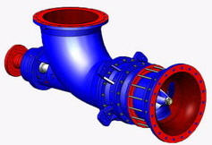 Pumps axial for sugar industry, irrigation