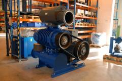 The vacuum pump for small vacuum. LUTOS (Czech